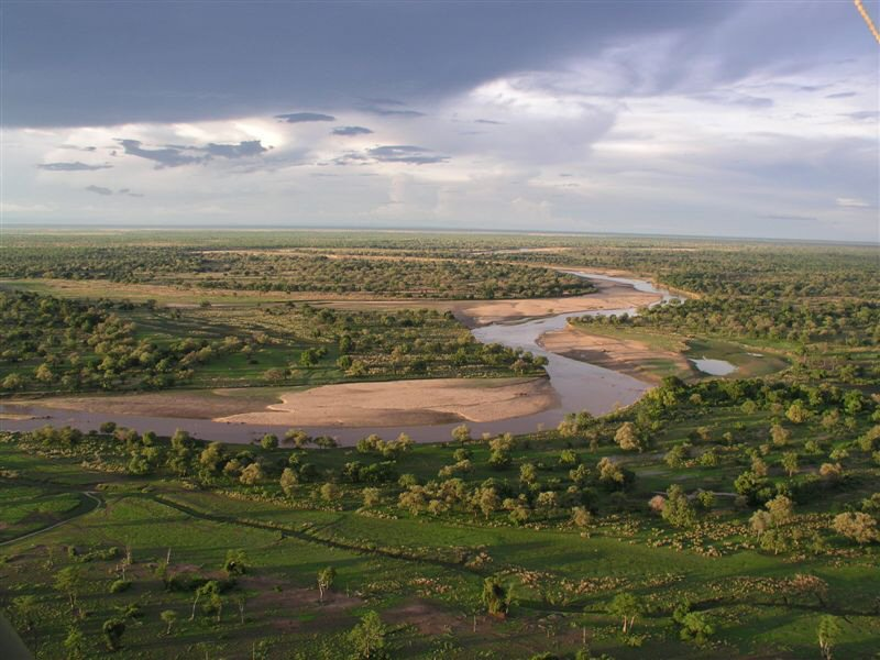 Parc national de South Luangwa, région de Tafika, Zambie