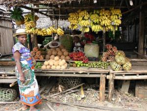 Marché aux fruits, Madagascar
